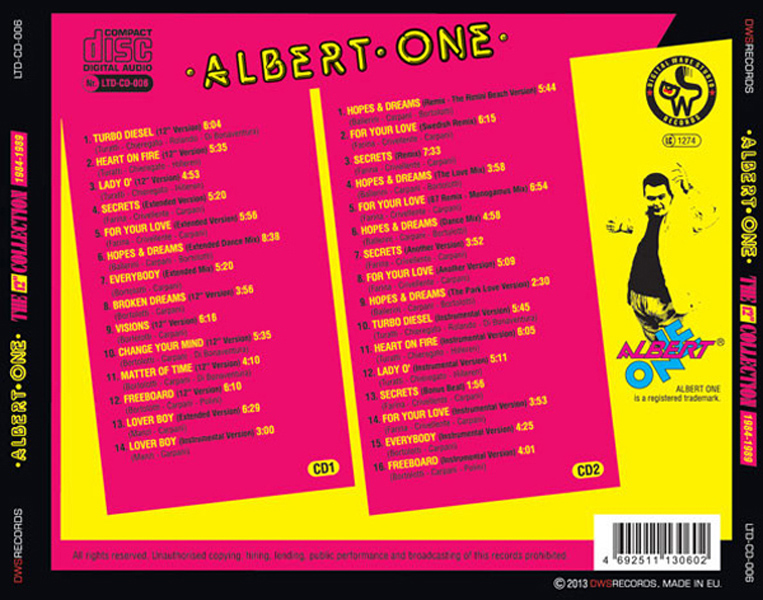 ALBERT ONE - 12 COLLECTION