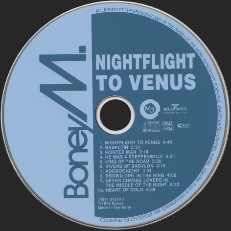 NIGHTFLIGHT TO VENUS