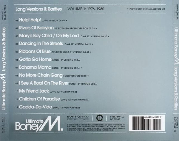 ULTIMATE BONEY M VOL. 1