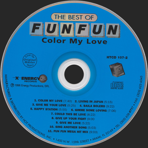 THE BEST OF FUN FUN (COLOR MY LOVE)