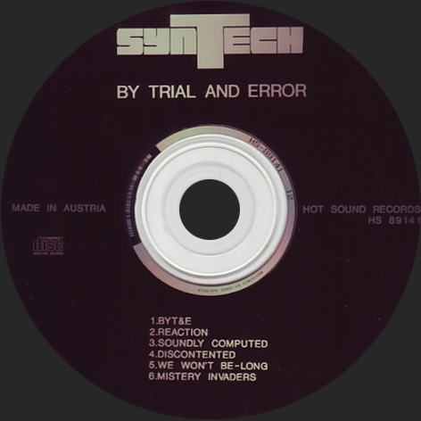 BY TRIAL AND ERROR